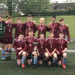 Under 16 Football – Winners City and County Cup Double - 2019